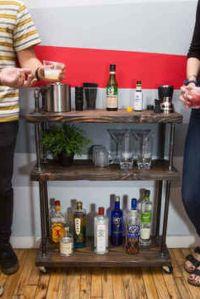 25+ best ideas about Diy Bar Cart on Pinterest   Bar carts ...