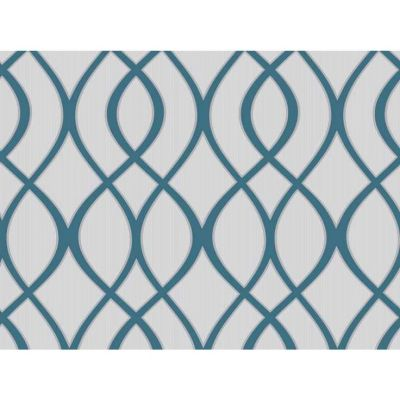 Wilko Trellis Teal Wallpaper at wilko.com | Hang Out Room | Pinterest | Trellis wallpaper, Spare ...