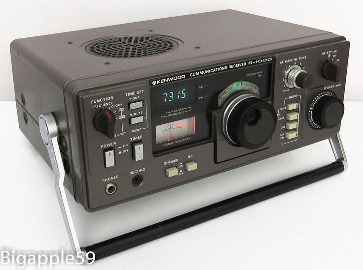 Kenwood R 1000 Shortwave Receiver Am Ssb Cw Ham Radio Radios