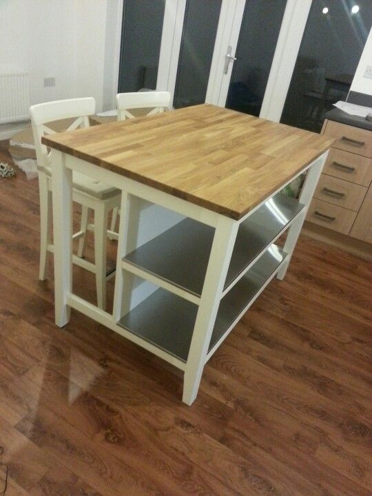 Black Kitchen Islands With Butcher Block Top Kitchen Amazing Ikea Stenstorp Kitchen Island... Our New Family Heirloom