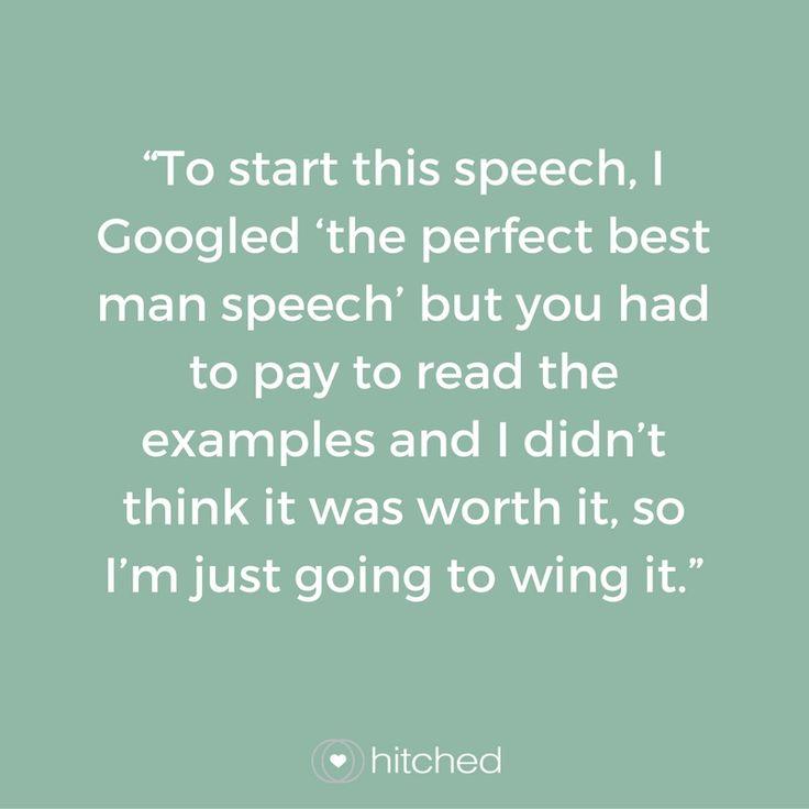 Father Of The Bride Speech Examples u201cTo Start This Speech, I - speech examples