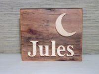 Custom name sign - personalized door signs - Bedroom ...