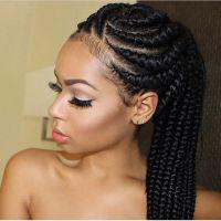 25+ best ideas about Black women braids on Pinterest ...