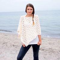 Crochet Pattern waves women poncho woman wrap beach cover ...