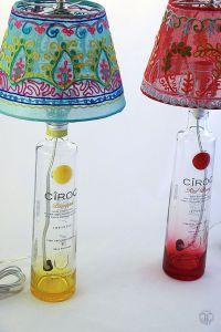 Best 25+ Liquor bottle lamps ideas on Pinterest | Wine ...