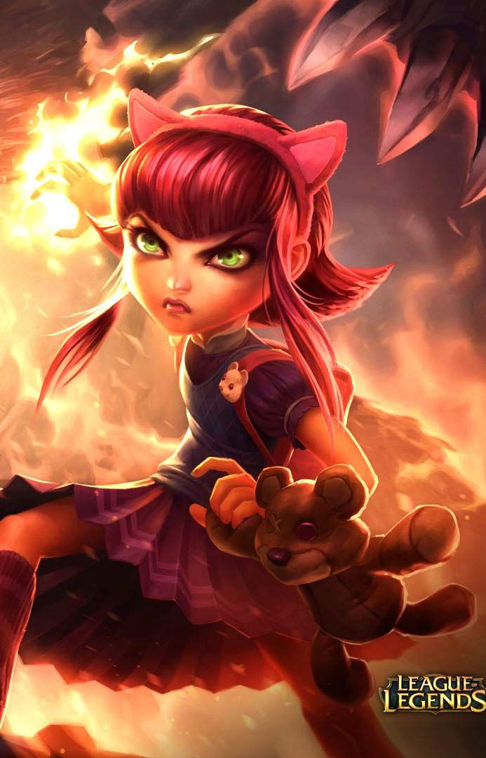 Cute Wallpaper Hd For Phone Games Wallpapers League Of Legends Annie Hd Wallpapers