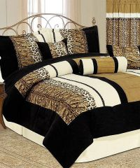 Animal Print Luxury Comforter Set | Luxury, Animals and ...
