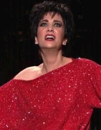 Kristen Wiig as Liza Minnelli in SNL S37E17. Video at http ...