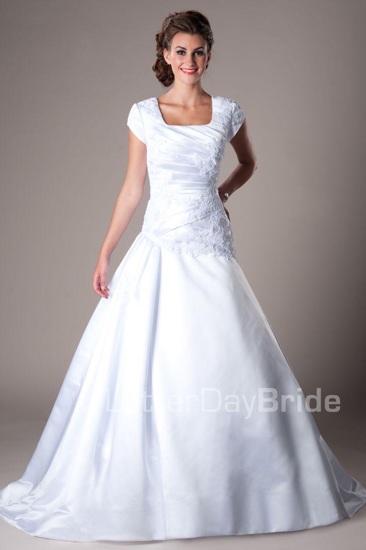 wedding dresses modest wedding dresses cheap Modest Wedding Dresses Mormon LDS Temple Marriage Hemsworth