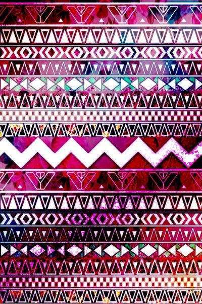 Pink-purple aztec print | wallpaper | Pinterest | Aztec, Aztec Prints and My Style