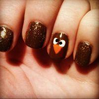 1000+ ideas about Thanksgiving Nail Art on Pinterest ...