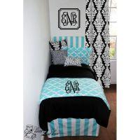 Tiffany Blue Designer Dorm Bedding Set | Window panels ...
