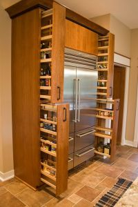 Cabinet Spice Rack Pull Out - WoodWorking Projects & Plans