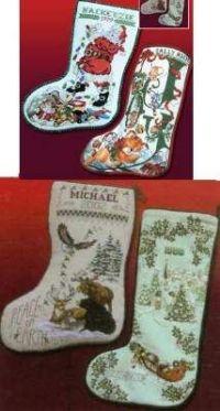 Best of Stoney Creek Christmas Stockings I by Stoney Creek ...