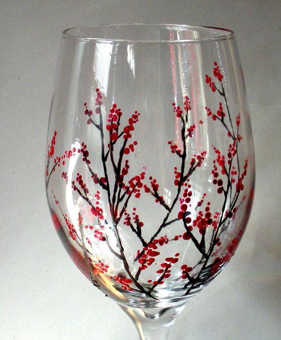 1000+ Ideas About Glass Paint On Pinterest | Diy Wine Glasses