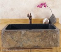 Stone Forest, Farmhouse Sink Natural Front Farmhouse Sink ...