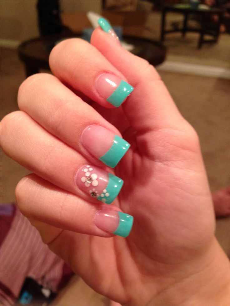 Turquoise Nails Nail Designs Pinterest Nails