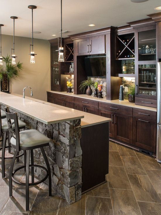 25+ best ideas about Modern Home Bar on Pinterest