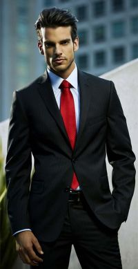 25+ best ideas about Black suits on Pinterest   Black suit ...