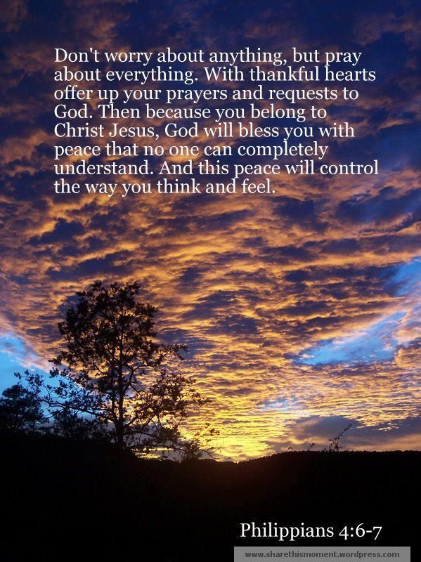 Thankful Wallpaper Quotes Don T Worry About Anything But Pray About Everything With