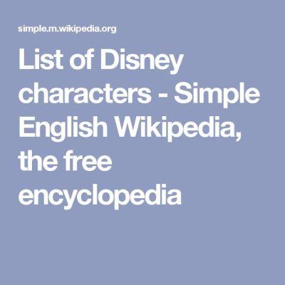 25+ best ideas about List of disney characters on Pinterest | Disney princess tv, All disney ...