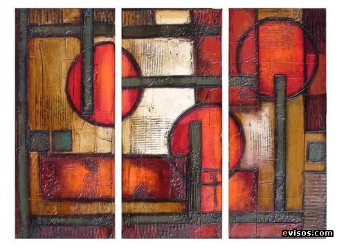 Cuadros Abstractos Contemporaneos 17 Best Images About Cuadro Triptico On Pinterest | Folk