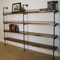 1000+ ideas about Industrial Shelves on Pinterest | Pipe ...