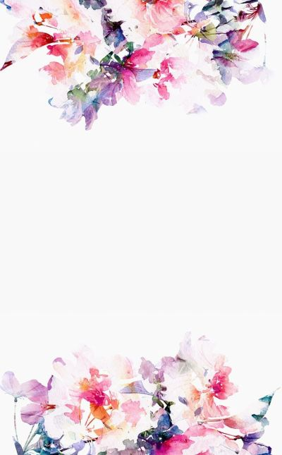 Flower watercolor | Everything | Pinterest | iPhone backgrounds, Watercolor wallpaper and Texts