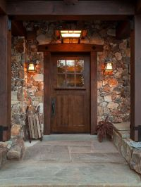 17 Best ideas about Rustic Front Porches on Pinterest ...