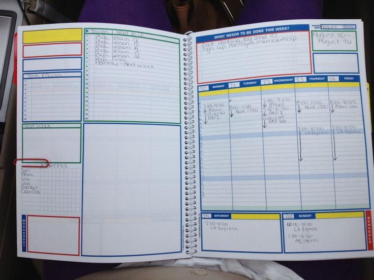 good planners for college students