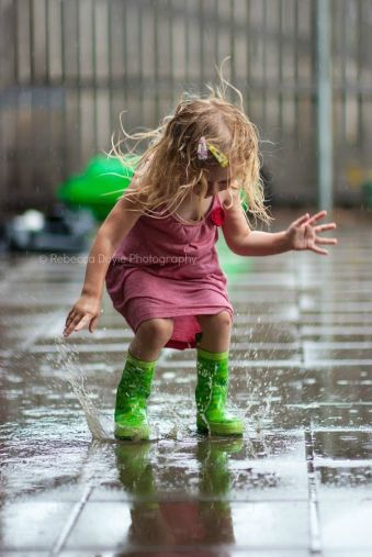 green rain boots…….STOMP THAT PAVEMENT WITH THOSE HAUTE-COUTURE  GREEN BOOTS……THAT'S THE WAY TO SHOW WHOSE THE BOSS………………ccp