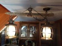 Western decor.. Old Single tree light fixture, that my