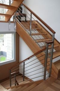 25+ Best Ideas about Metal Stair Railing on Pinterest ...