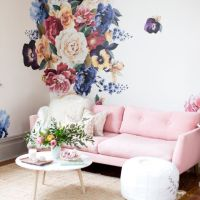 17 Best ideas about Flower Wall Decals on Pinterest ...
