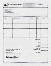 60 best images about Invoice Template Designs Download on ...