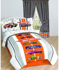 Hot Wheels Vintage Bedding Set - Muscle Cars Comforter ...
