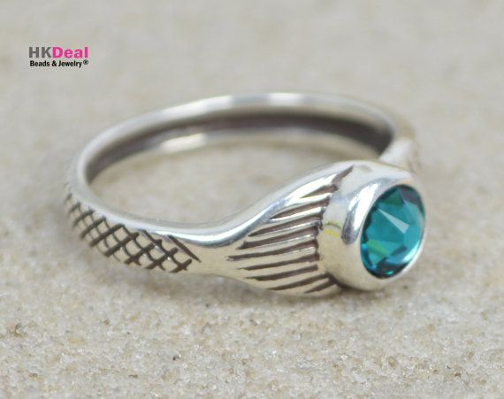 NEW Mako Mermaid Ring H2O Just Add Water Moon Ring by