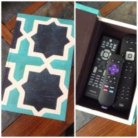 DIY Remote Control Holder | Everything in its place- Blog ...