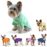 Dog Sweater Knitting Pattern For Small Dogs | Stitch in ...