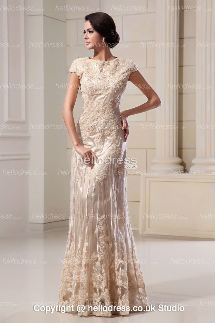 wedding cheap ivory wedding dresses Champagne Colored Lace Evening Gowns dresses lace wedding dresses inexpensive wedding dress