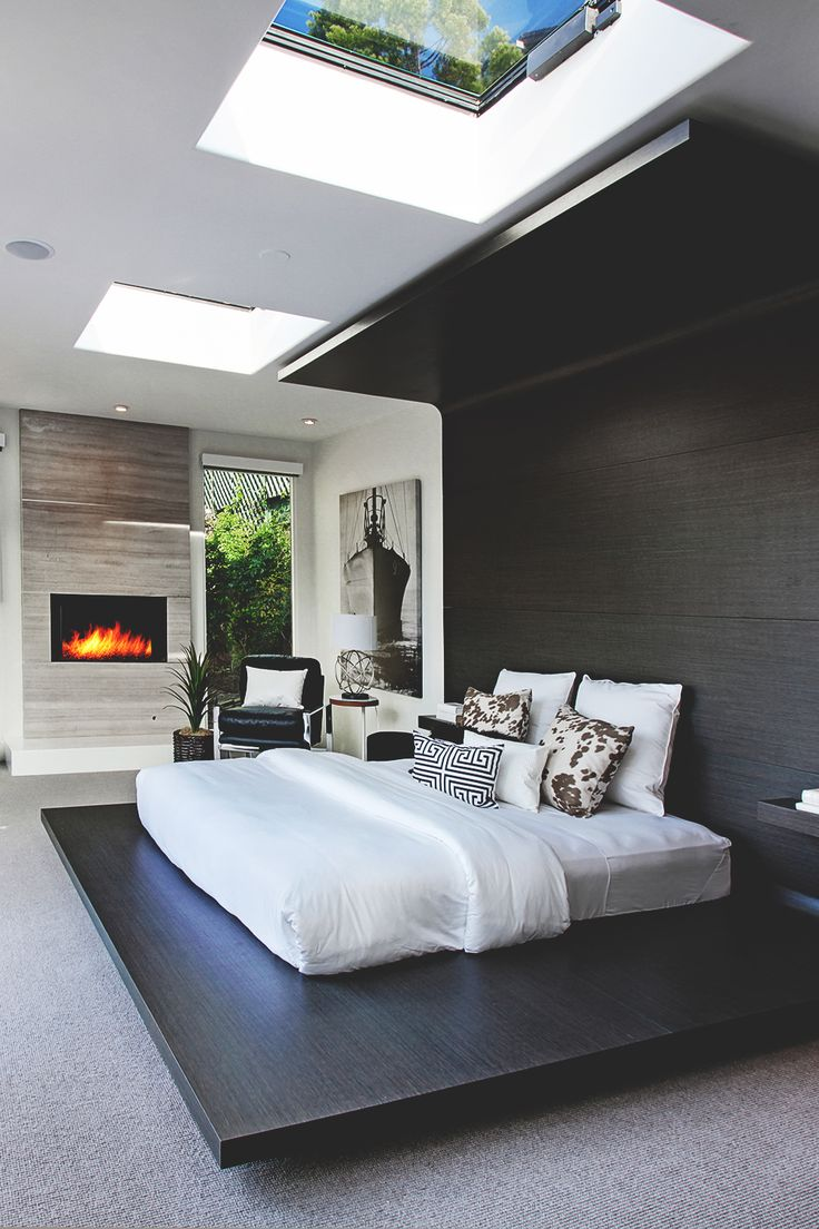 Nice 55 beautiful modern bedroom inspirations
