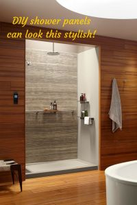 1000+ ideas about Shower Wall Panels on Pinterest | Shower ...