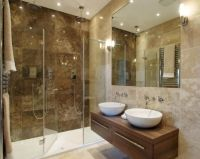 25+ best ideas about Brown Tile Bathrooms on Pinterest ...