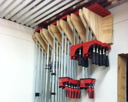 Woodworking Clamp Rack Woodworking Projects Plans
