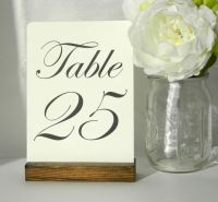 Best 25+ Table number holders ideas on Pinterest