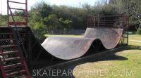 Annondale Metal Skate Ramp Halfpipe Skateramp Miniramp