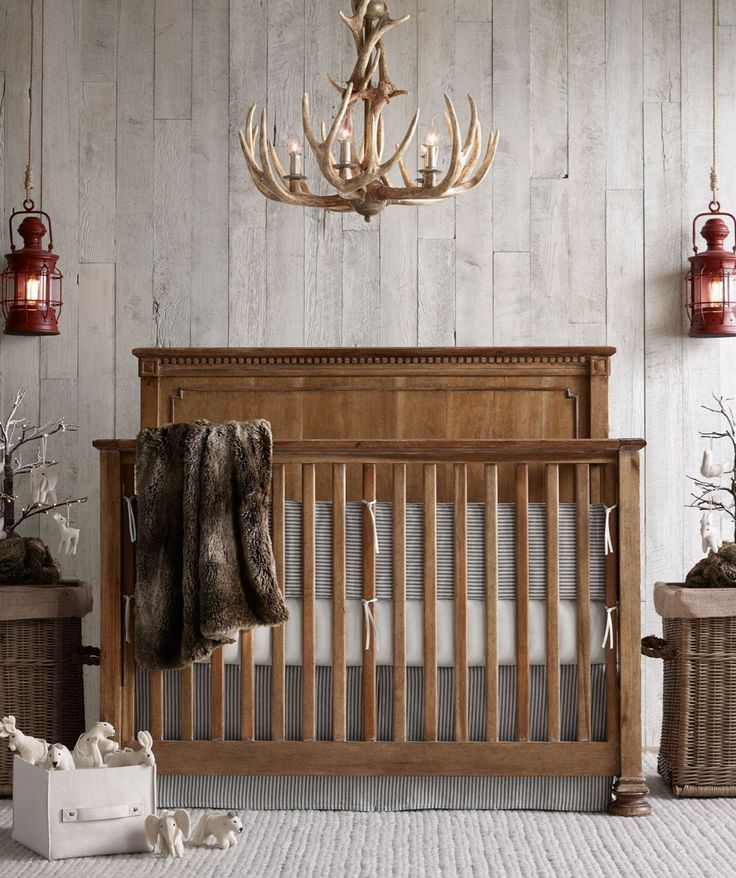17 Best ideas about Rustic Baby Rooms on Pinterest