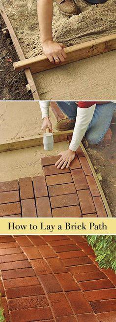 78+ Ideas About Brick Pathway On Pinterest   Walkway Ideas, Brick