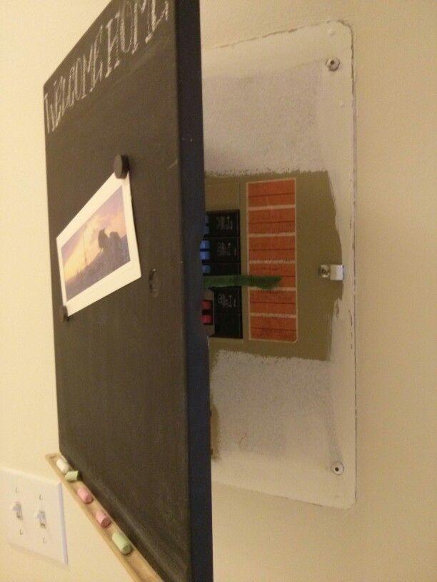 fuse box covering ideas