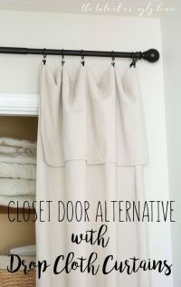 Best 20+ Door Alternatives ideas on Pinterest | Closet ...